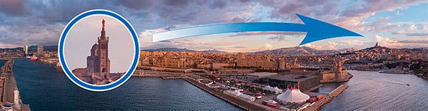 SmartAerial PANO Marseille Vieux-Port banner